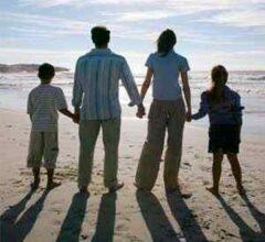 configurações de famílias