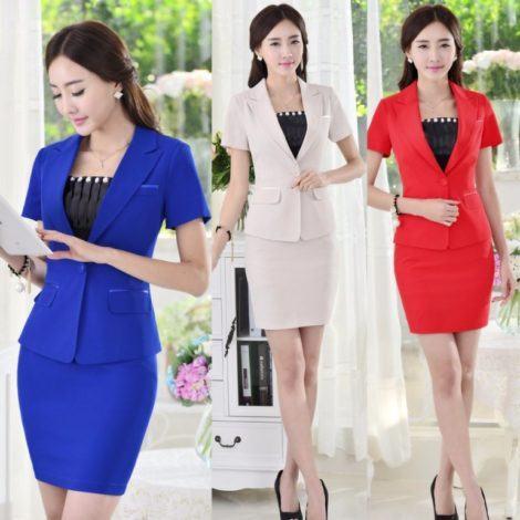 blazer feminino com saia terninho 470x470 - BLAZER FEMININO, com saia, vestido ou calça está em alta