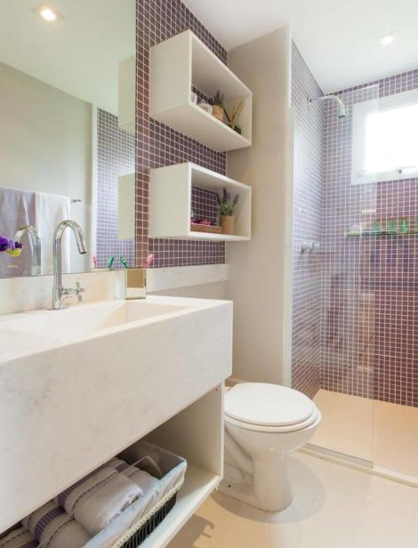 fotos de banheiros planejados 6 470x616 - FOTOS DE BANHEIROS Planejados e Decorados, perfeitos