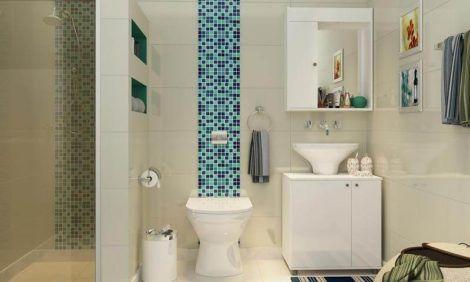 fotos de banheiros planejados 8 470x282 - FOTOS DE BANHEIROS Planejados e Decorados, perfeitos