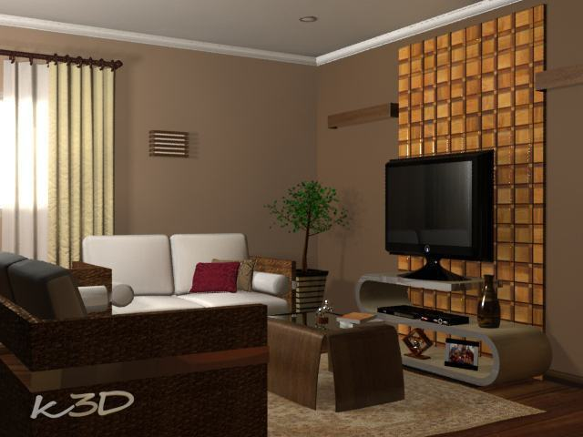 Que tal uma cor de parede nova na casa s detalhe for Modelos para pintar paredes interiores