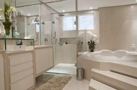 banheiro banheira 470x312 - BANHEIROs COM BANHEIRA traz muito bem estar, confira modelos