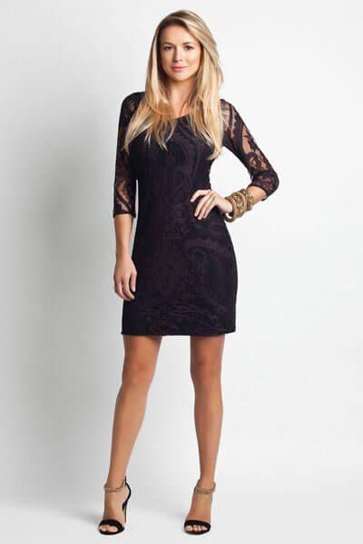 imagem 23 2 - Vestido de RENDA CURTO , Veja como usar