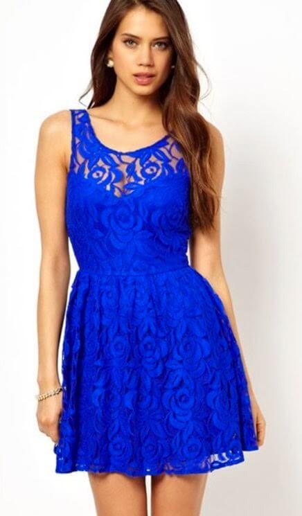 vestido de renda curto 10 - Vestido de RENDA CURTO , Veja como usar