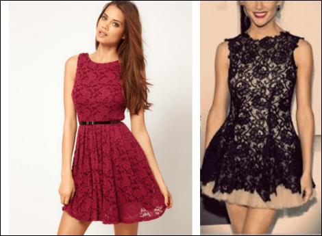 vestido de renda curto 9 470x345 - Vestido de RENDA CURTO , Veja como usar