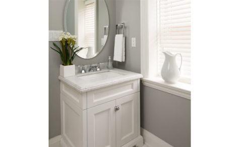 gabinete de banheiro pequeno 4 470x292 - GABINETE DE BANHEIRO pequeno em 30 projetos