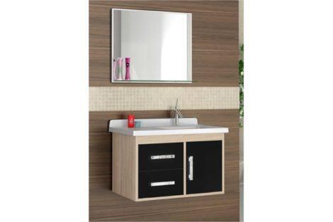 gabinete de banheiro pequeno 5 470x313 - GABINETE DE BANHEIRO pequeno em 30 projetos