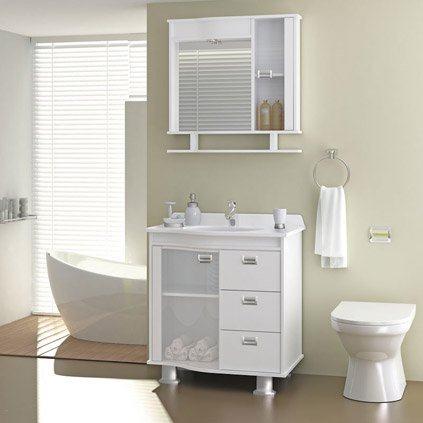 gabinete de banheiro pequeno - GABINETE DE BANHEIRO pequeno em 30 projetos