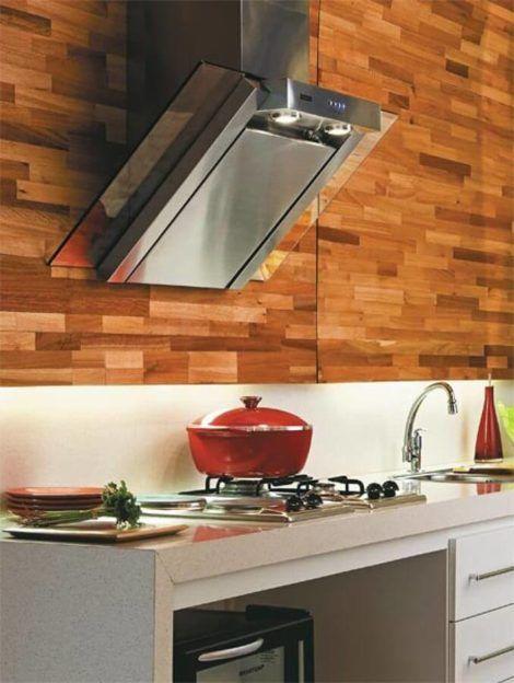 coifas para cozinha planejada 2 470x624 - Coifas para cozinha PLANEJADA, veja modelos