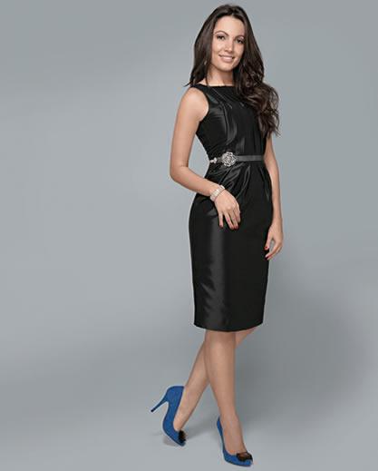 imagem 11 - Vestidos básicos SIMPLES para o dia a dia