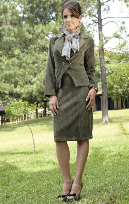 imagem 12 3 - TERNINHO FEMININO com calça ou saia ( Pra momentos formais )