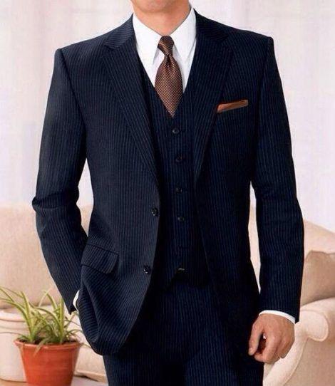 terno risca de giz 12 470x542 - TERNO risca de giz Modelos da moda masculina
