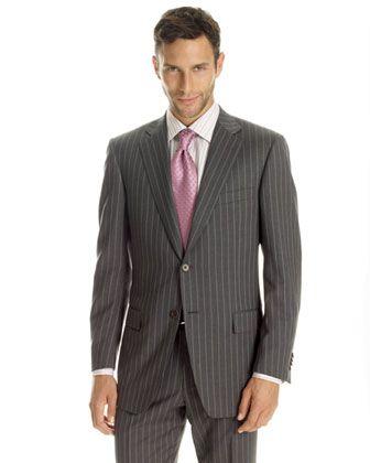 terno risca de giz 4 - TERNO risca de giz Modelos da moda masculina