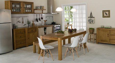 cozinha com moveis rusticos 3 470x258 - Móveis RÚSTICOS para Casa, veja cada ambiente