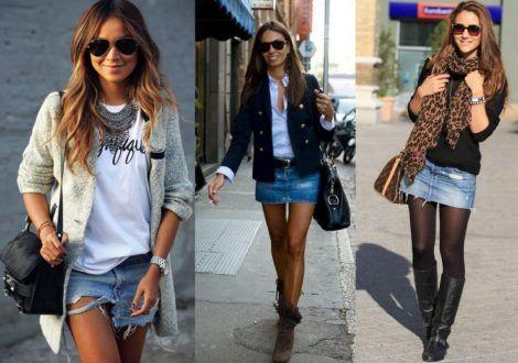 saia jeans curta 8 470x330 - SAIA jeans curta e longa da moda, como usar