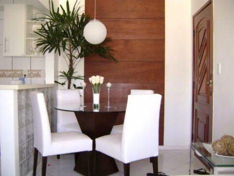7 470x353 - SALA DE JANTAR PEQUENA com decoração charmosa