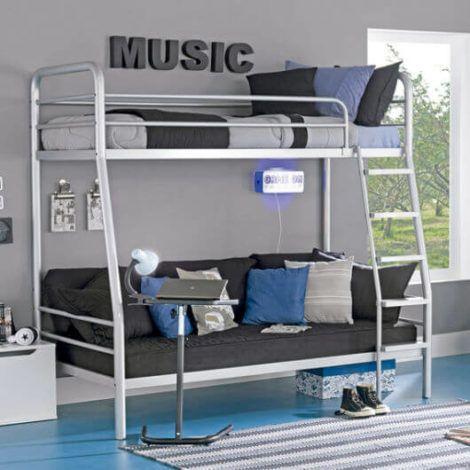 imagem 13 470x470 - Quarto com cama BELICHE veja como decorar