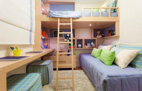imagem 14 470x302 - Quarto com cama BELICHE veja como decorar