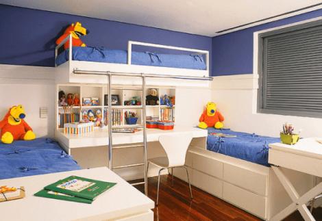 imagem 21 470x323 - Quarto com cama BELICHE veja como decorar