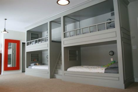 quarto com cama beliche 4 470x313 - Quarto com cama BELICHE veja como decorar