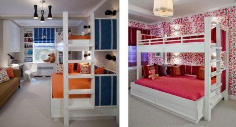quarto com cama beliche 5 470x253 - Quarto com cama BELICHE veja como decorar