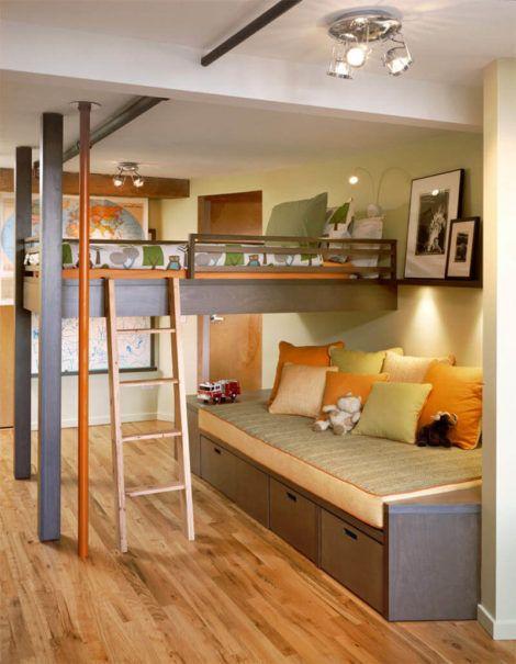 quarto com cama beliche 7 1 470x605 - Quarto com cama BELICHE veja como decorar