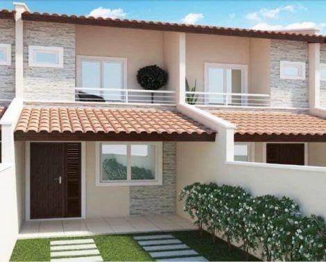 casas populares fachada 14 470x378 - Fachadas de CASAS POPULARES - fotos de modelos