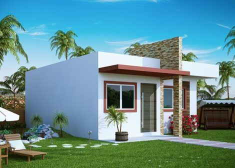 casas populares fachada 15 470x336 - Fachadas de CASAS POPULARES - fotos de modelos