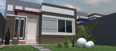 casas populares fachada 3 470x207 - Fachadas de CASAS POPULARES - fotos de modelos
