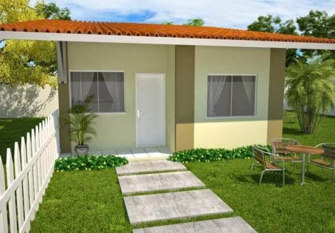casas populares fachada 8 470x327 - Fachadas de CASAS POPULARES - fotos de modelos