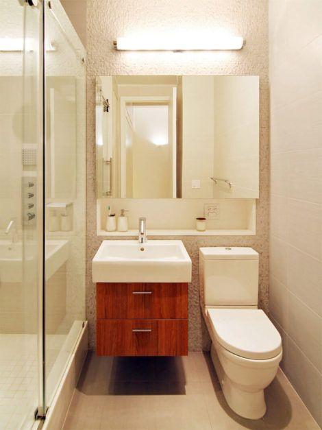 banheiro pequeno 2 470x627 - Dicas para decoração de BANHEIRO PEQUENO