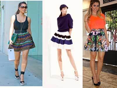 modelos de saia moderna 1 - Modelos da saia MODERNA vários modelitos e looks