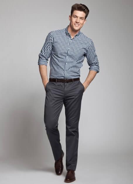 camisa social masculina com calca 1 - CAMISA SOCIAL MASCULINA com calça, shorts (visuais para trabalhar e passear)