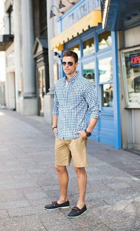 imagem 12 1 470x775 - CAMISA SOCIAL MASCULINA com calça, shorts (visuais para trabalhar e passear)