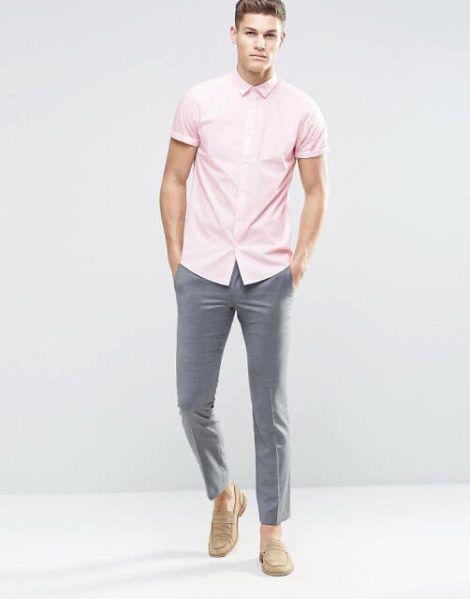 imagem 26 1 470x599 - CAMISA SOCIAL MASCULINA com calça, shorts (visuais para trabalhar e passear)