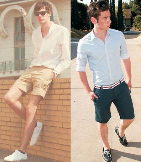 imagem 7 1 470x540 - CAMISA SOCIAL MASCULINA com calça, shorts (visuais para trabalhar e passear)