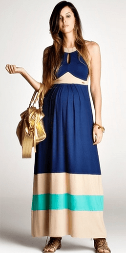 vestido de gestante longo 1 - Vestido de GESTANTE LONGO modelitos e dicas de uso