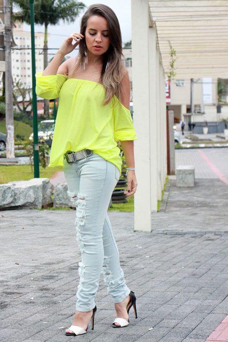 imagem 17 470x705 - Modelos de Blusa CIGANINHA com calça, shorts, saia