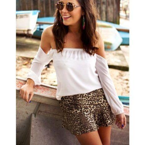 imagem 19 470x464 - Modelos de Blusa CIGANINHA com calça, shorts, saia
