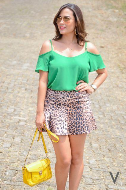 modelos de blusa ciganinha 2 - Modelos de Blusa CIGANINHA com calça, shorts, saia