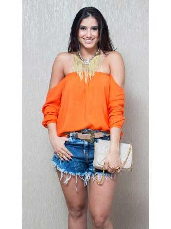 modelos de blusa ciganinha 3 - Modelos de Blusa CIGANINHA com calça, shorts, saia