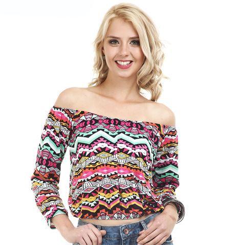 modelos de blusa ciganinha 5 - Modelos de Blusa CIGANINHA com calça, shorts, saia