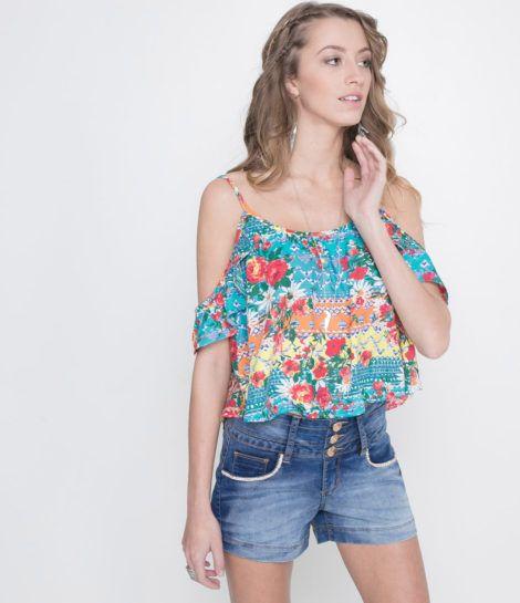 modelos de blusa ciganinha 6 470x545 - Modelos de Blusa CIGANINHA com calça, shorts, saia