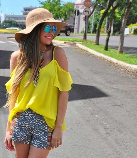 modelos de blusa ciganinha 8 - Modelos de Blusa CIGANINHA com calça, shorts, saia