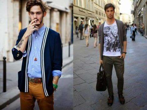 como usar cardigan masculino 1 470x354 - Blusas de frio masculinas, muitas cores e modelos