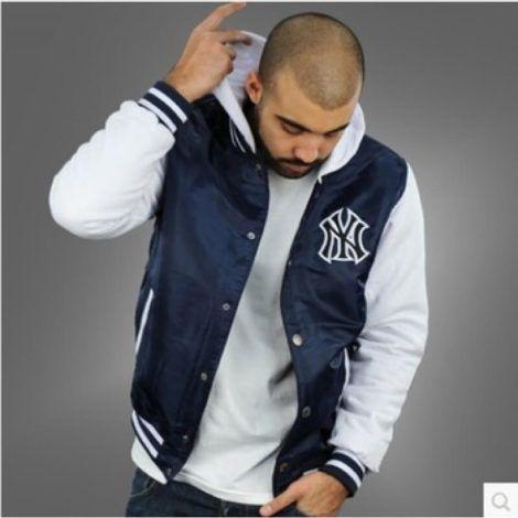 jaqueta college masculina estilo americano 470x470 - Blusas de frio masculinas, muitas cores e modelos