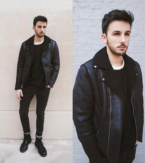 jaqueta forrada masculina 2 470x529 - Blusas de frio masculinas, muitas cores e modelos