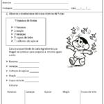 avaliação de matematica para 1 ano 150x150 - Avaliação de Matemática para 1 ano para crianças