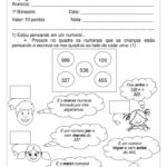 avaliação de matematica para 1 ano para imprimir 150x150 - Avaliação de Matemática para 1 ano para crianças
