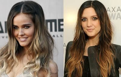 cortes para cabelos lisos com mechas loirasb - Visual bem descolado com cabelos lisos com mechas loiras